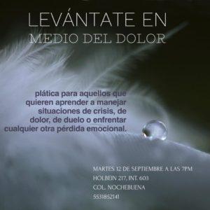 Levántate en medio del dolor @ Humanac | Ciudad de México | Ciudad de México | México